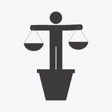 Justice concept Stock Photography