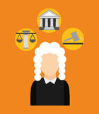 Justice concepts Royalty Free Stock Images