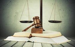 Justice de loi Photographie stock