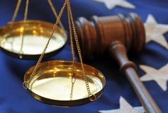 Justice de portion Photo libre de droits