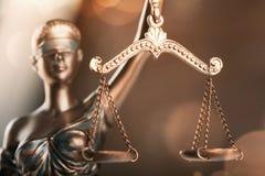 Justice de statue Images stock