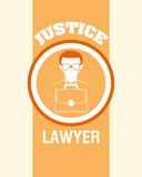 Justice design Stock Photography