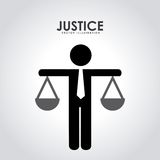 Justice design Stock Image