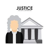 Justice design Royalty Free Stock Photo