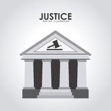 Justice design Royalty Free Stock Image