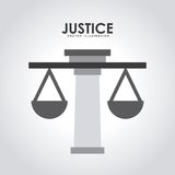 Justice design Royalty Free Stock Photos