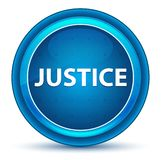 Justice Eyeball Blue Round Button royalty free illustration