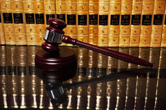 Justice gavel Stock Image