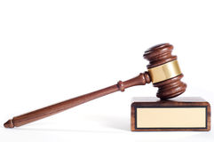 Justice Gavel Royalty Free Stock Photo