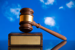 Justice Gavel Stock Images