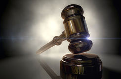 Justice Gavel Royalty Free Stock Photography