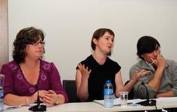 Justice globale pour un forum neuf de décennie Photo stock