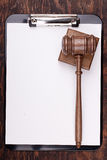 Justice Hammer Stock Photography