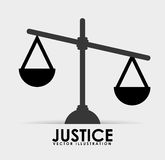 Justice icon design Stock Photos