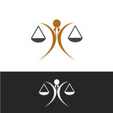 Justice icon Royalty Free Stock Photos