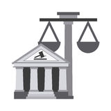 Justice icon Royalty Free Stock Image
