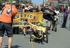 Justice for Injured Workers Stock Photography