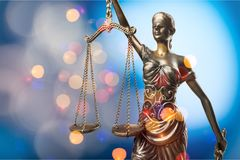 Justice. Jury law lawyer attorney authority balance Royalty Free Stock Images