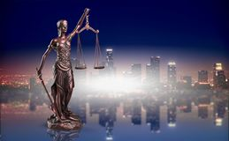 Justice. Abstract advocate antique arbitration attorney background Stock Image