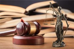 Justice. Law statue judiciary lawyer judge judicial Royalty Free Stock Photos