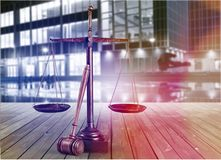 Justice. Legal system weight scale scale trial law defending Royalty Free Stock Photo