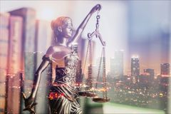 Justice. Lady lawyer legal litigation abstract ancient stock photo
