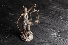 Justice. Lady lawyer legal litigation abstract ancient Royalty Free Stock Photography