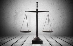 Justice. Law Balance Weight Scale Respect Libra Legal System stock photo
