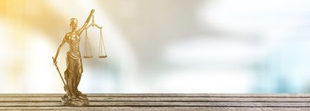 Justice. Lawyer legal courtroom law trial attorney Stock Image