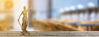 Justice. Lawyer legal courtroom law trial attorney stock photo