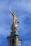 Justice in London Stock Photo