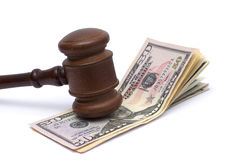 Justice and money Royalty Free Stock Photos