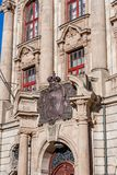 The Justice Palace of Bayreuth stock image