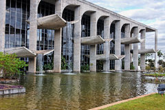 Justice Palace in Brasilia Brazil Stock Photo