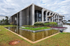 Justice Palace in Brasilia Brazil Stock Photography