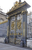 Justice Palace Gate from Paris in France Royalty Free Stock Photography