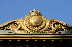 Justice palace in Paris Royalty Free Stock Photo