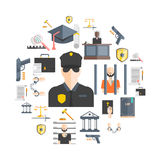 Justice And Punishment Concept Royalty Free Stock Images