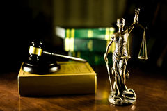 Justice. The Roman goddess of Justice Royalty Free Stock Photos