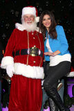 Justice, Santa Claus, Victoria Justice Royalty Free Stock Photography