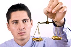 Justice scale Stock Images