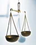 Justice scale Royalty Free Stock Images