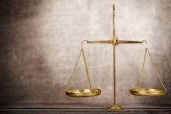 Justice. Scale Balance Gavel Equality Legal System Law Stock Photography