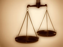 Justice scales Stock Photos