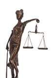 Justice with scales for Law and Justice Stock Images