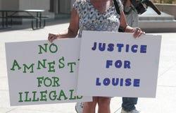 Justice, signes d'amnistie Image libre de droits