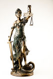 Justice statue royalty free stock images