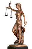 Justice statue Stock Image