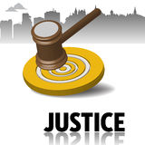 Justice theme Royalty Free Stock Images