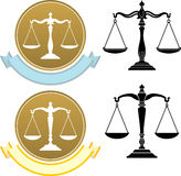 Justice Weighing Scale Royalty Free Stock Photo